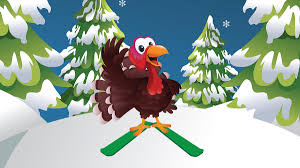 Image result for turkey skiing clipart