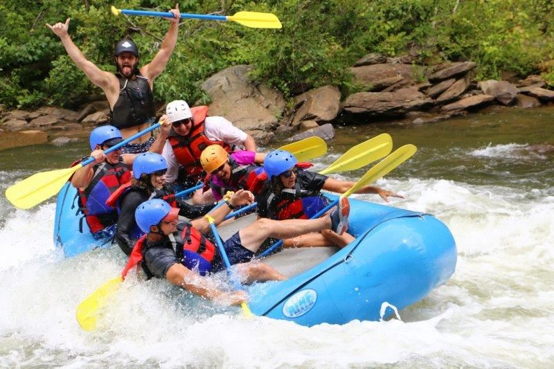Rafting with Orlando Ski and Travel Club